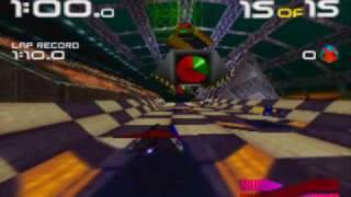 Wipeout 64 Game Sample - N64