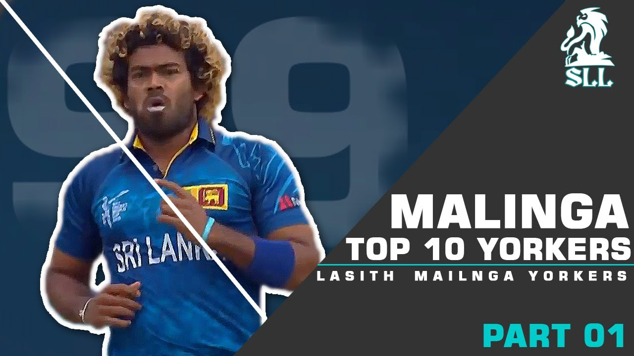 Top 10 Lasith Malinga's Best Yorkers in Sri Lanka Cricket History Ever. **| Destructive Yorkers |**