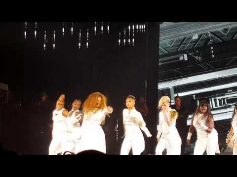 Janet Jackson unbreakable tour - Miss you much