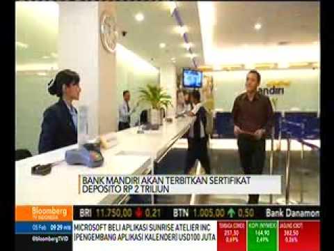 Bank Mandiri Akan Terbitkan Sertifikat Deposito Rp 2 Triliun