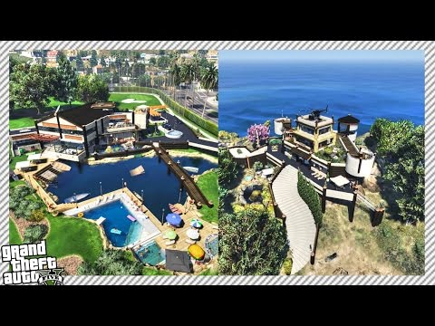 CUSTOM PACIFIC CASTLE, V.I.P GOLF CLUB HOTEL & BEVERLY HILLS VILLA