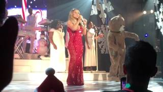 Mariah Carey - All I Want for Christmas Is You (2015 Christmas Concert in New York)