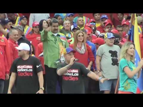 مادورو يفوز بولاية رئاسية ثانية في فنزويلا  - نشر قبل 1 ساعة