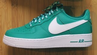 "NBA x Nike Air Force 1 Low ""Neptune Green"" Review"
