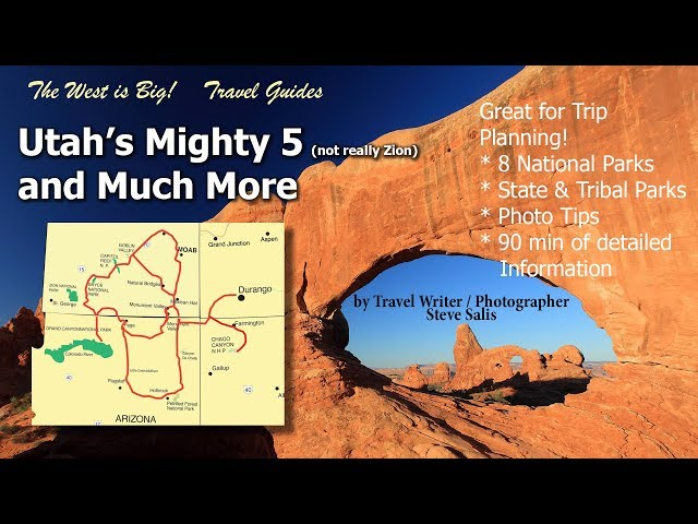 Utah NP Parks Travel Guide- plus Much More for Trip planning