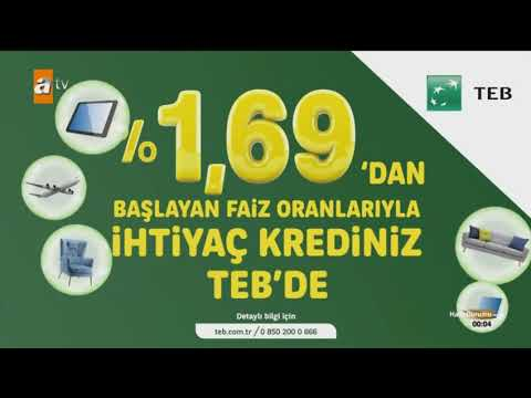 ATV Yeni Reklam Jeneriği Teb 1162