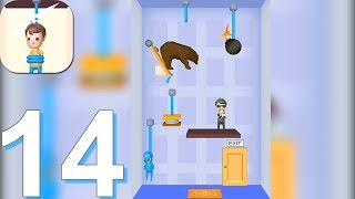 Rescue Cut - Rope Puzzle - Gameplay Walkthrough Part 14 All Levels 368-400 (Android Gameplay)