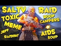 RAIDING SALTY ROOF CAMPERS - Rust
