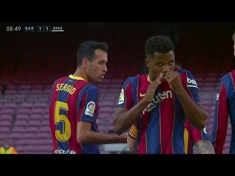 Download Ansu Fati vs Real Madrid (24/10/2020)