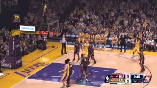 NBA 2k14: Kobe vs Lebron NEXT GEN XBOX ONE GAMEPLAY