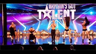 Hello boys! Feeling Hot under the collar!!--  Britain's Got  Talent