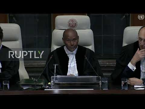 Netherlands: ICJ begins