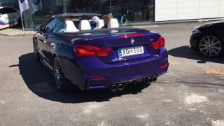 BMW M4 Cabriolet 2018 - Competition Package - Startup Sound