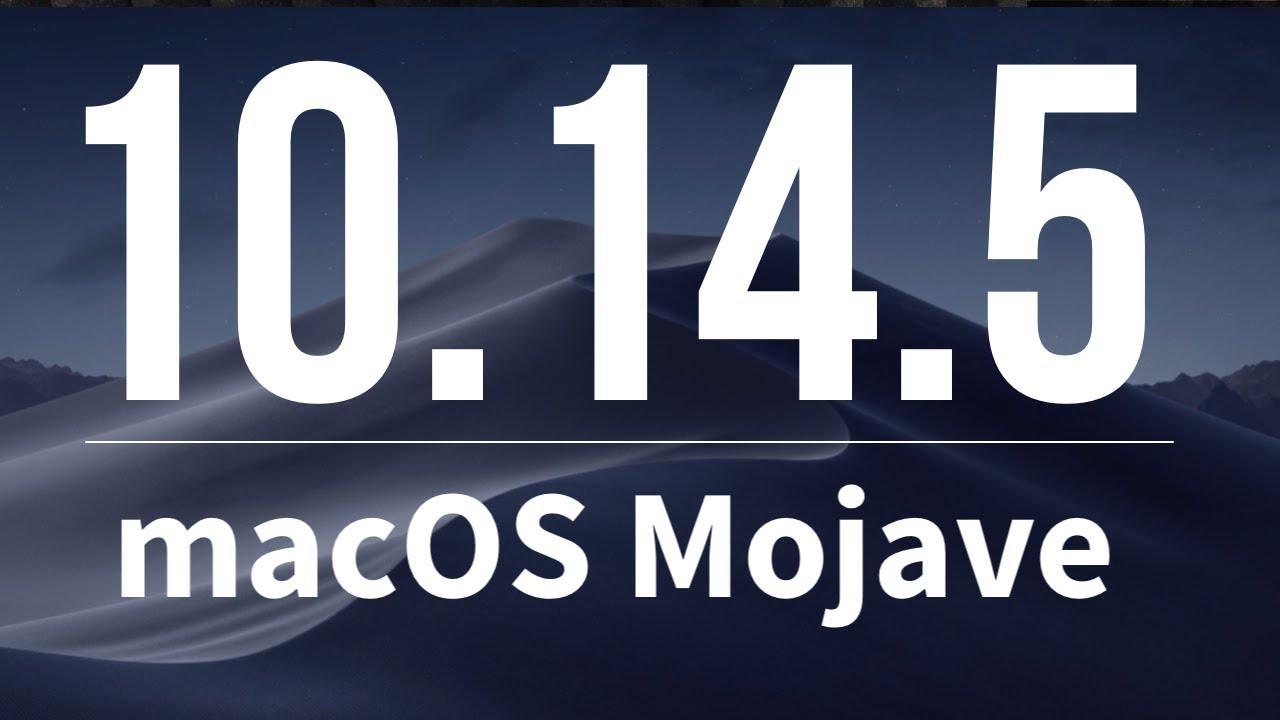 How to Update to macOS Mojave 10 14 5 | iMac, MacBook, Mac Pro, Mac mini