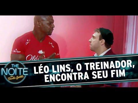 The Noite (17/12/14) - Léo Lins, o treinador, encontra seu fim