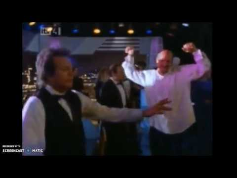 larry and hank get into the groove