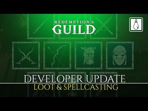 Video | Dev Update | Loot & Spellcasting
