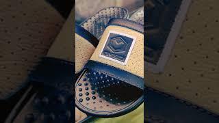 Bangga Buatan Indonesia - sandal ombo blater slide original - sendal ombo kulit pria - sandal kulit asli - sandal vintage casual
