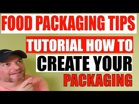 How to package your food product Tutorial and advice to create your packaging thumbnail