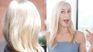 Geheimtipps wie du Platinum Blonde Haare bekommst & die Farbe hältst   #Offtopic