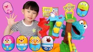 라임의 신나는 뽀로로 핑거패밀리 데굴데굴 뽀로로 영어 인기동요 마더구스 장난감 놀이 LimeTube & Toy 라임튜브