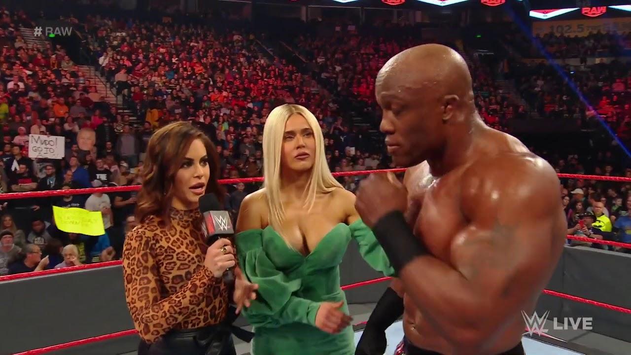 WWE Lana dancing with Natalya - YouTube