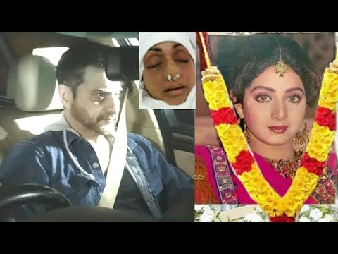 Sridevi Funeral: Sanjay Kapoor Leaves TEARY EYES After Paying Last Respect To Sridevi
