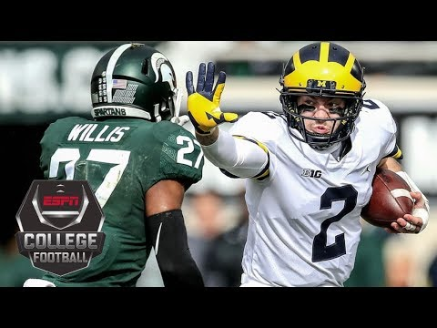 No. 6 Michigan Wolverines defeat No. 24 Michigan State Spartans 21-7 | NCAA Football Highlights