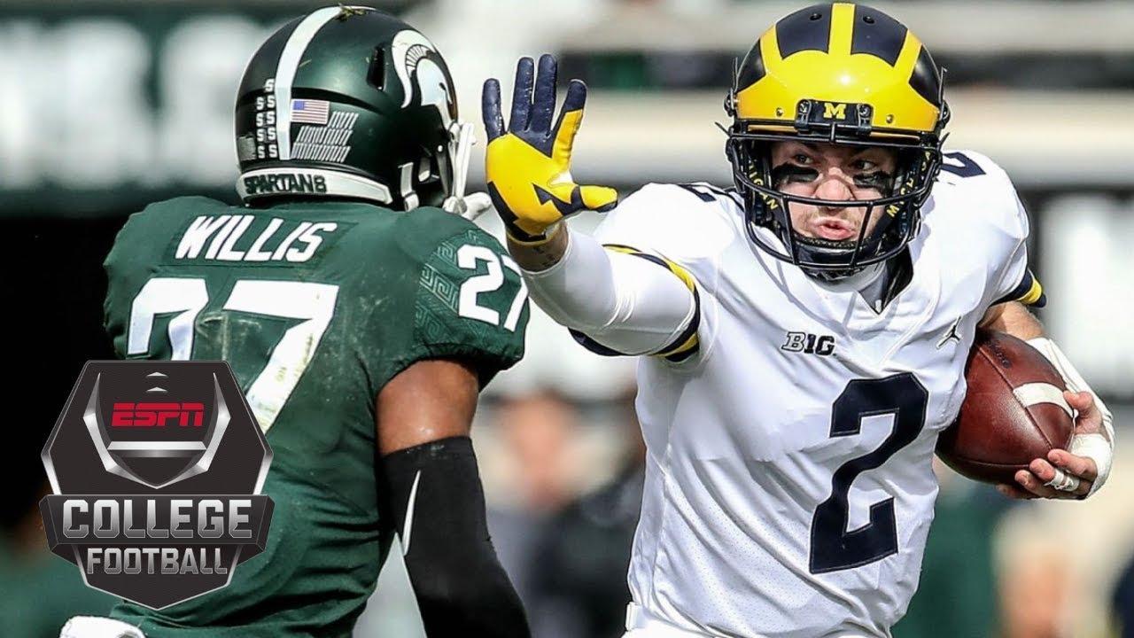 No. 6 Michigan Wolverines defeat No. 24 Michigan State Spartans 21-7 | NCAA Football Highlights