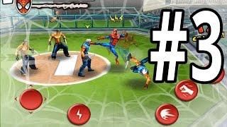 Ultimate Spider-Man: Total Mayhem | iPhone | Gameplay Walkthrough Part 3: Spider-Man Cause Blackout