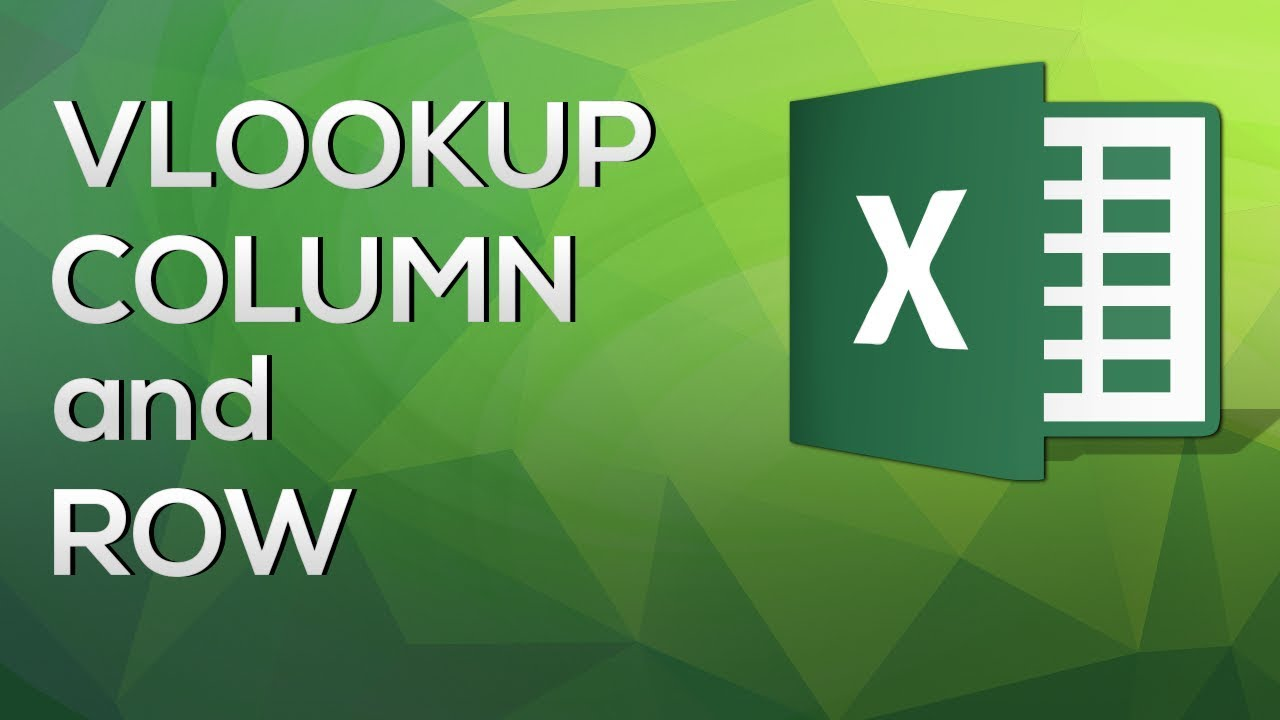 VLOOKUP COLUMN and ROW - Handle large data tables with ease [Advanced Excel]
