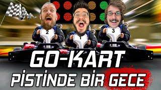 GO-KART PİSTİNDE BİR GECE GEÇİRMEK!! (UYUMAK YASAK!)