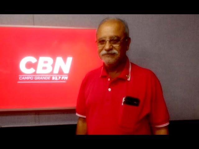 Entrevista CBN Campo Grande: Dr. Juberty Antônio de Souza, conselheiro do CRM-MS