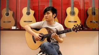 "不為誰而作的歌 Twilight – 林俊傑 JJ Lin ""Guitar Cover"" Steven Law"