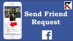 How To Send Friend Request Facebook App