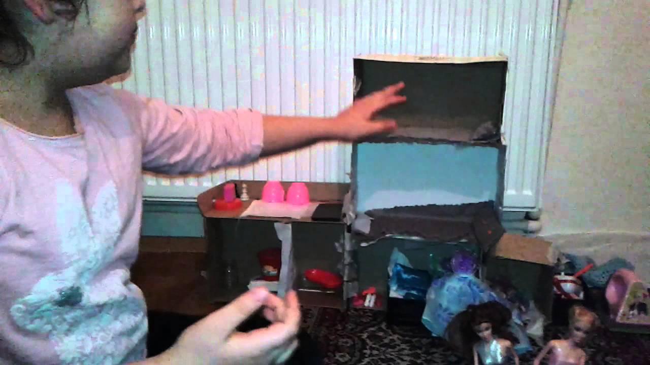El Yapımı Barbie Evi Youtube