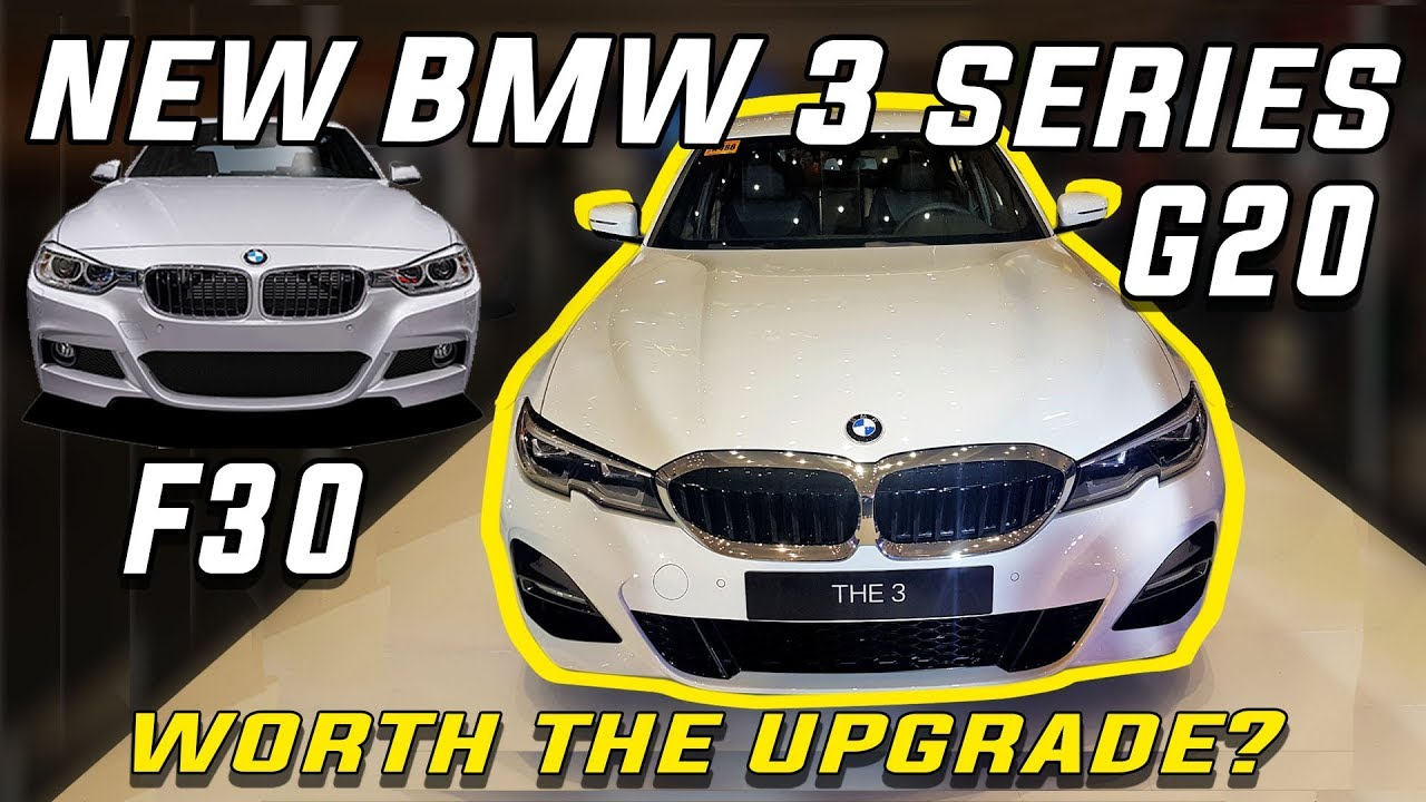 BMW 330i msport  -G20 vs F30 differences