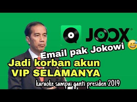 #1 Hack JOOX untuk akun vip dan karaoke selamanya dengan pak JOKOWI how to hack joox vip for VIP👑