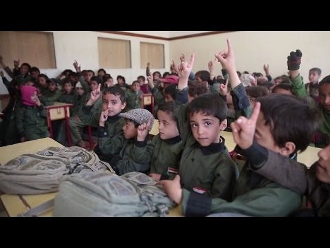 Yemen children dream of school as war keeps them out