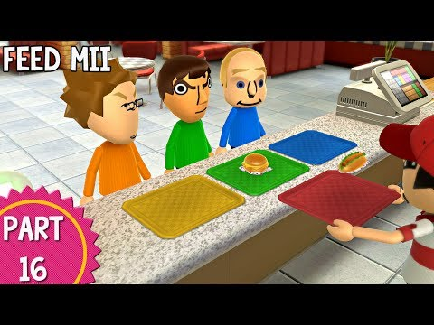 Wii Party U: Episode 16 - Feed Mii
