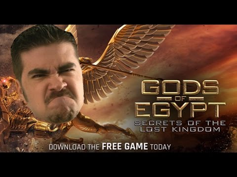 AngryJoe Plays Gods of Egypt (iOS)!