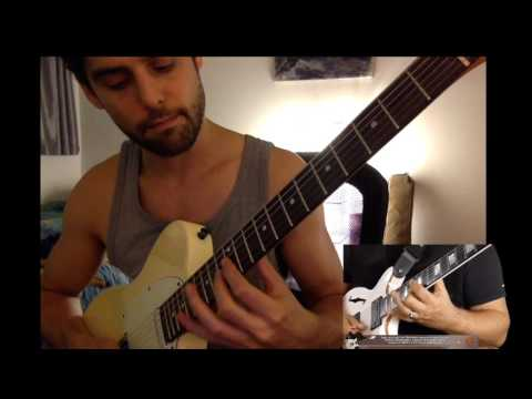 Practicing: Frank Gambale - Sweep Picking 'My Little Viper'