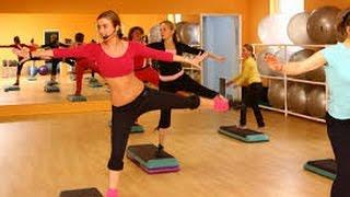 Скачать фитнес видео для похудения. Спорт фигура.