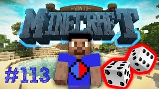 Minecraft SMP HOW TO MINECRAFT #113 'RUSSIAN DICE GAMBLING!' with Vikkstar