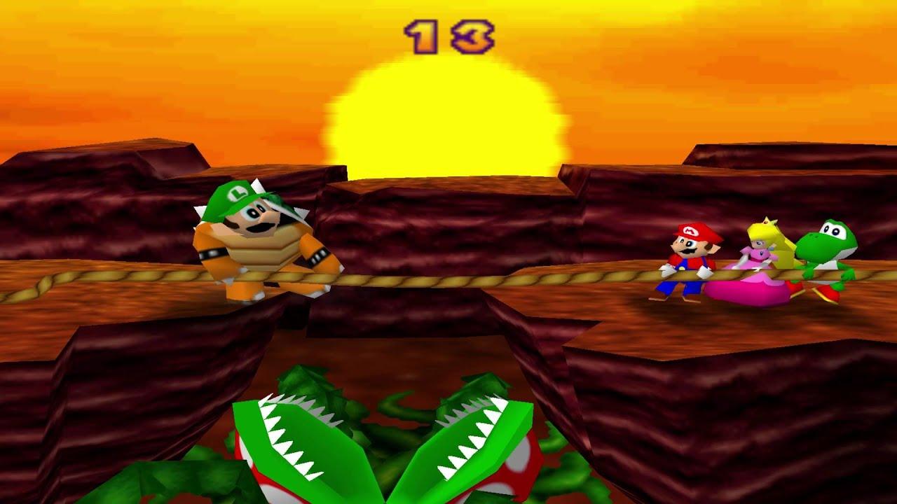 Mario Tug of War