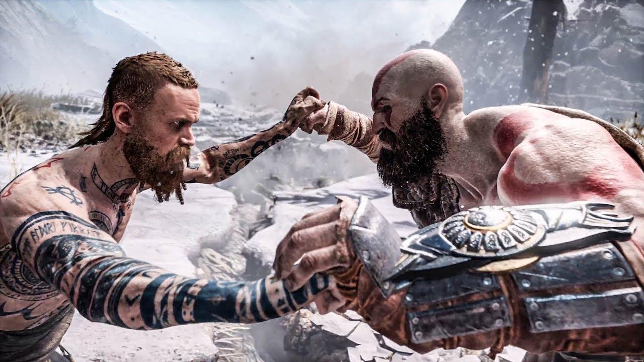 Download God of War - Kratos Vs Stranger (Give Me God of War / No-Damage)