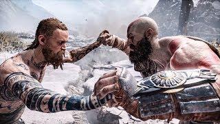 God of War - Kratos Vs Stranger (Give Me God of War / No-Damage)