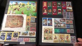 My stamps collection album #1 (2018)