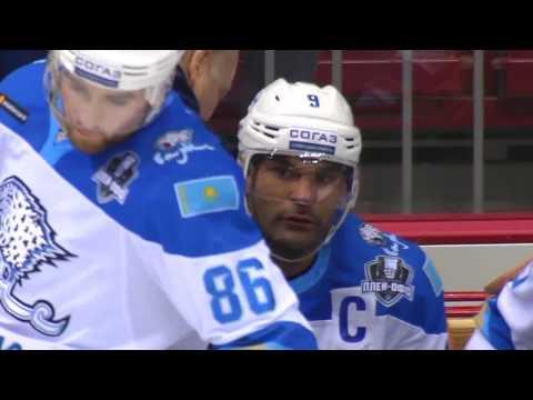 Кубок Гагарина 2017, Трактор - Барыс 2:5 (Матч 1)