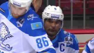 2017 Gagarin Cup, Barys 5 Traktor 2 (Game 1)